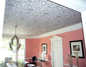 Metallic Ceiling